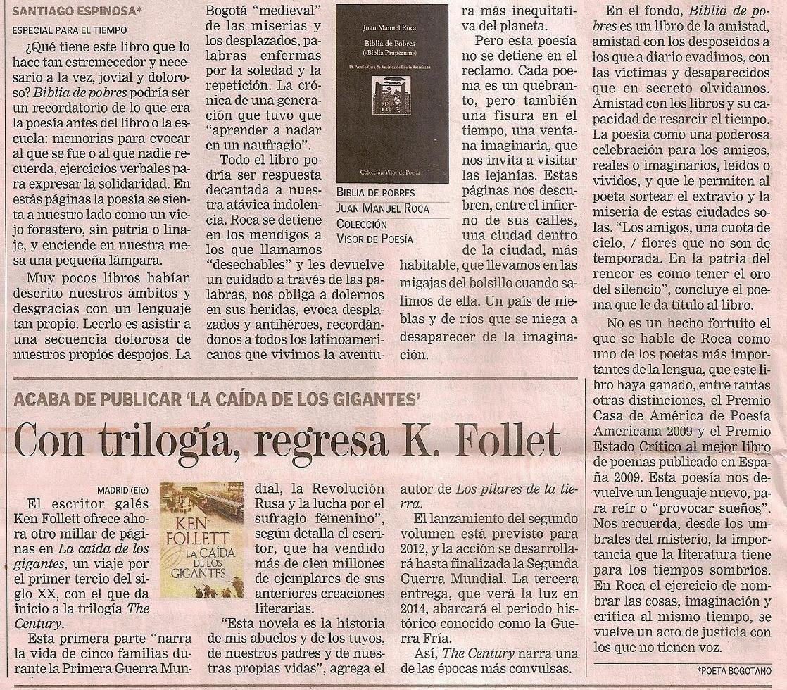 Ntc libros de poes a 03 oct 2010 - En el piso de abajo libro ...
