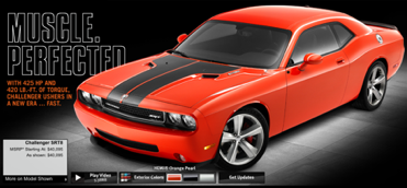 Hemi Orange Dodge Challenger