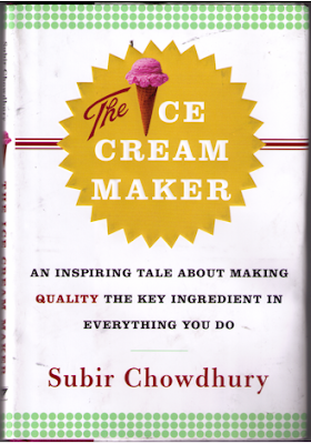 Bob Nardelli promotes The Ice Cream Maker by Subir Chowdhury