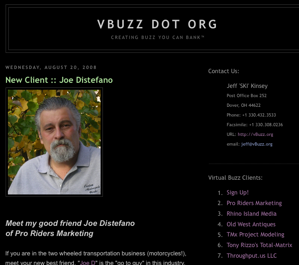 vBuzz.org creates Buzz you can Bank(TM)