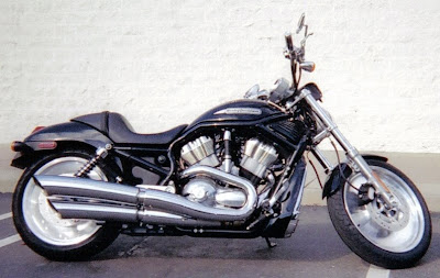 For Sale: 2004 Harley-Davidson V-Rod Black on Black with Nice Chrome upgrades