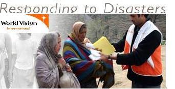 Donate to Haiti thru World Vision International