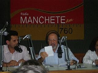 urandir entrevista radio manchete mídia