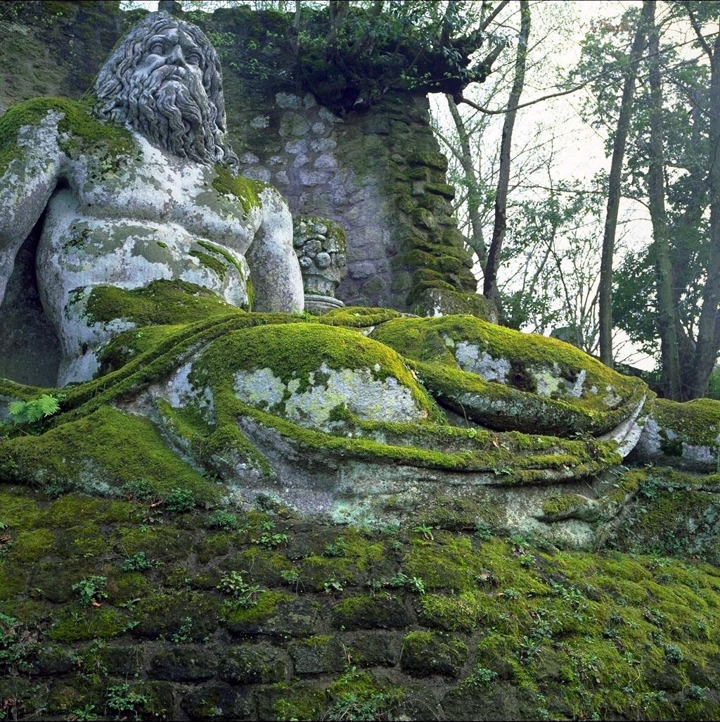 Mapa el jard n de bomarzo o parque de los monstruos for Parques y jardines