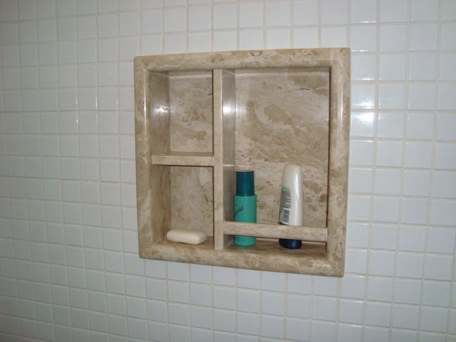 Marmoraria Granart Nichos de Banheiro -> Nicho De Banheiro Em Granito