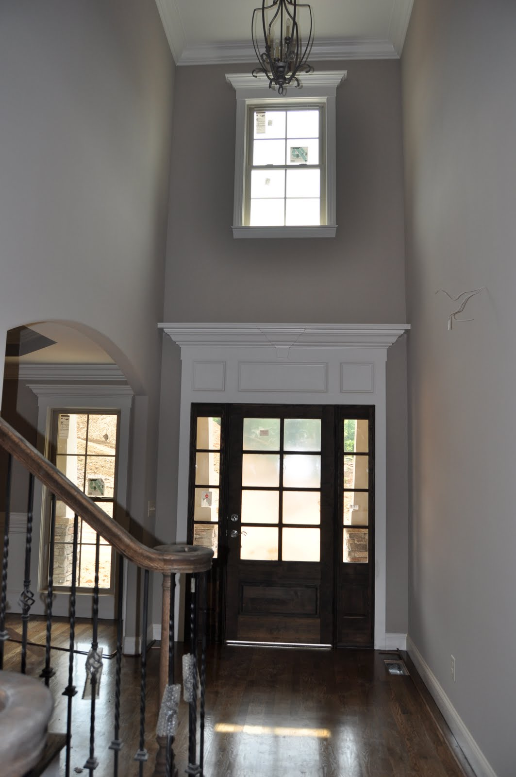 Two Story Foyer Window Treatment : The ssi design group portfolio greensboro s chic