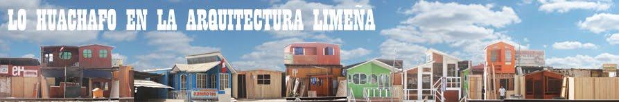 Lo huachafo en la arquitectura limeña