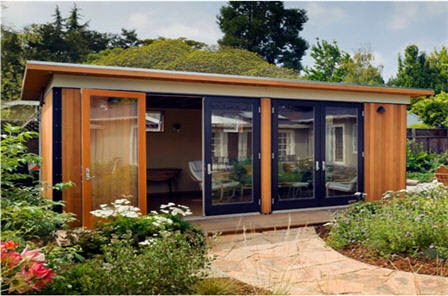 Eco friendly container and prefab homes prefab homes by for Prefab pool cabana