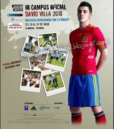 Anota a tu Guaje en el Campus Oficial David Villa!