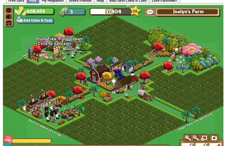 CHIBIHOLIC || bablih.com: Facebook Gamesfarmville town