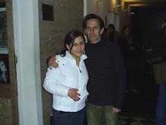 Con Alfredo Castro