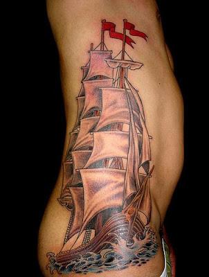 Tatuagem caravela
