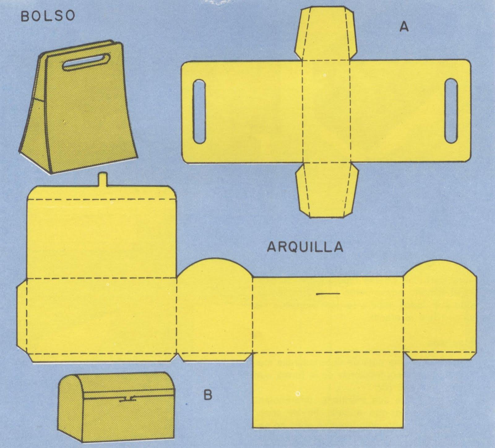 Manualidades infantiles hacer bolsa de papel - Hacer bolsas de papel en casa ...