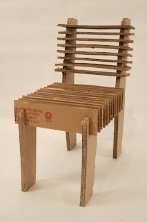Experiments In Sustainable Industrial Design Type 1 Cardboard Chair