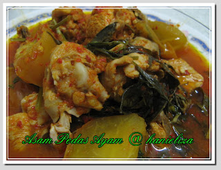 ayam asam pedas masakan indonesia
