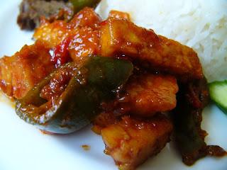 sambal goreng tempe masakan indonesia