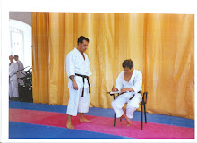 Con el maestro Kanazawa.