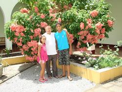 Frei Osmar, seus novos amigos: Os sobrinhos de Frei Fernandes em Ipuarana.