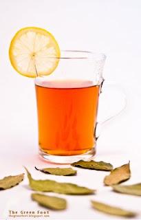 Ceai din frunze de dafin
