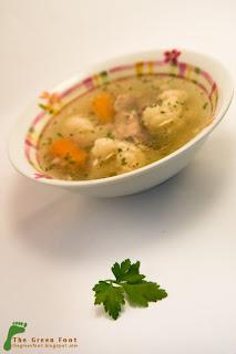 Supa de pui cu conopida 02