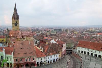 Art Boutique - Sibiu din Turnul Sfatului