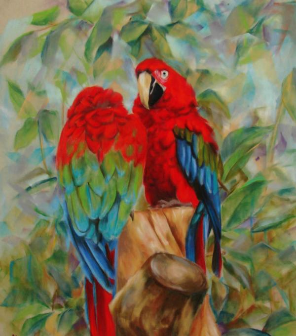 two love birds kissing. images of love birds kissing.