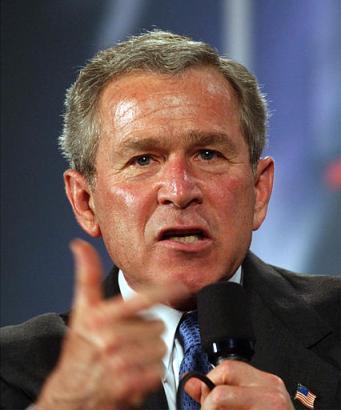 George W Bush Funny Face Ny Pics