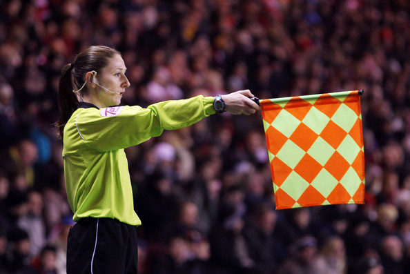 Women Linesman Joke Photo. Linesman who#39;s a woman Sian