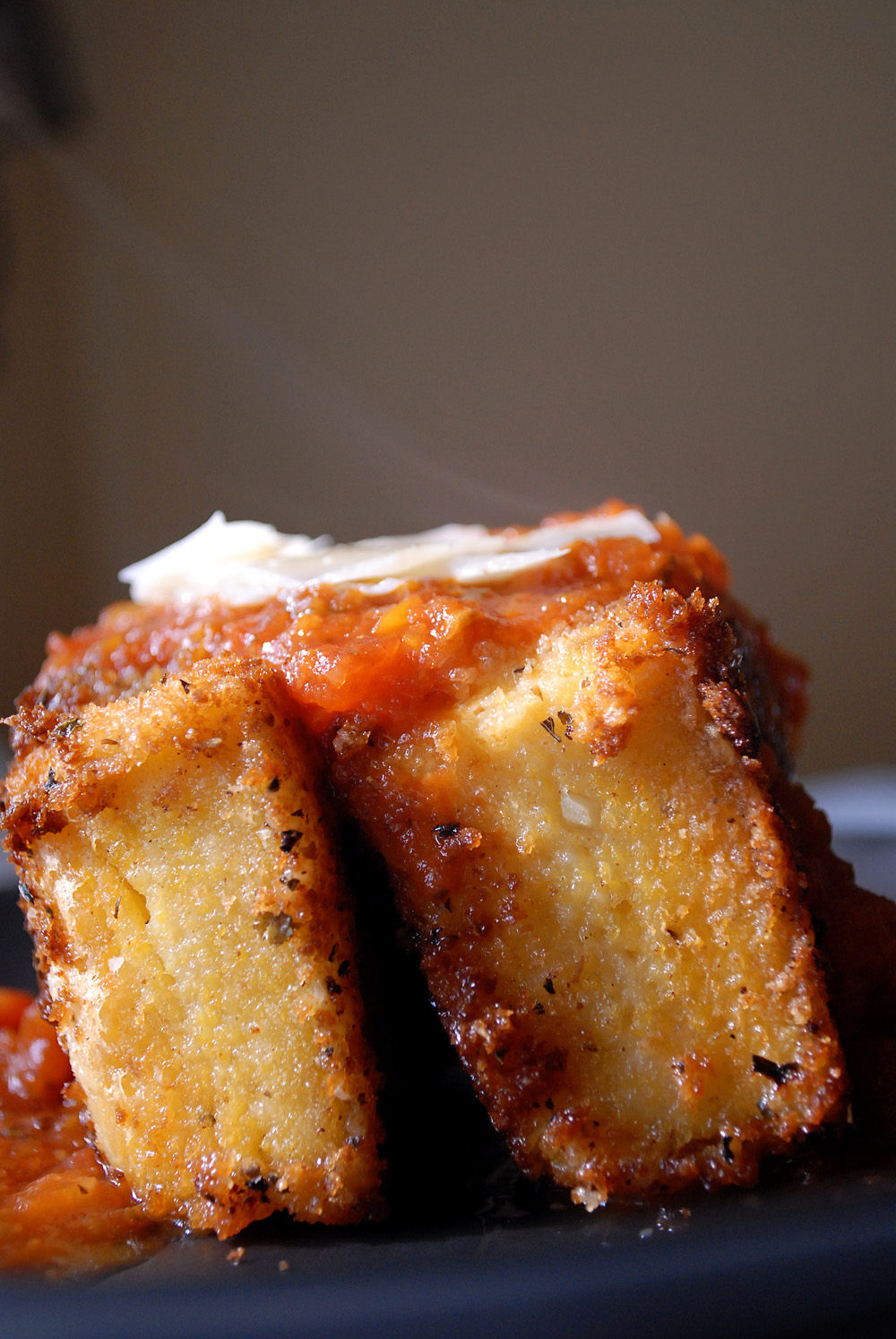 How To Make Fried Grit Cakes
