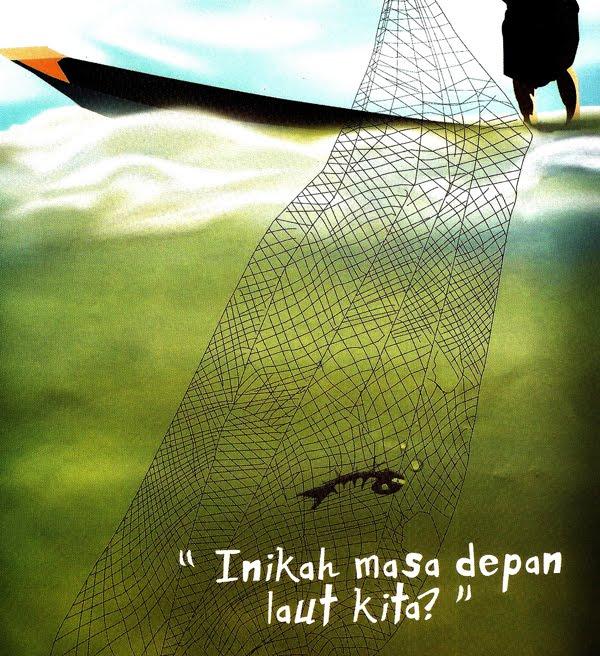 Ikan di Laut Tercemar Indonesia