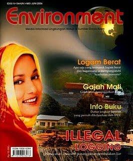 Marissa Haque Meneliti llegal Logging di Prov Riau, 2006-2009