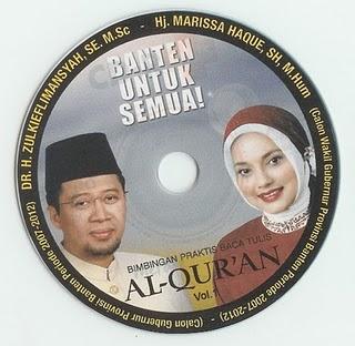 CD Moral Etika Islam dari Zulkieflimansyah dan Marissa Haque dalam Pilkada Banten 2006 Lalu