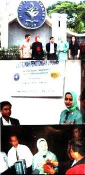 Mantan Purek 4 IPB & Bunda Marissa Haque