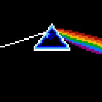 Dark Side Of The Moon cover gets the 8-bit treatment.