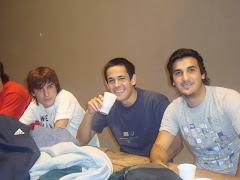 Juani, Conra y Belu