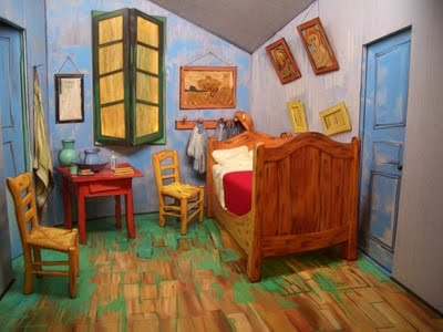 Van Goghs Bedroom. Paper Dali What Van Gogh 39 S Bedroom Needed ...