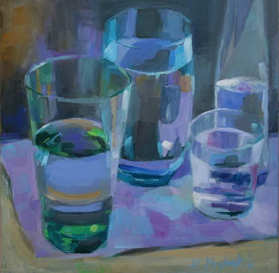Daily Paintings By Elizabeth Blaylock, American ...