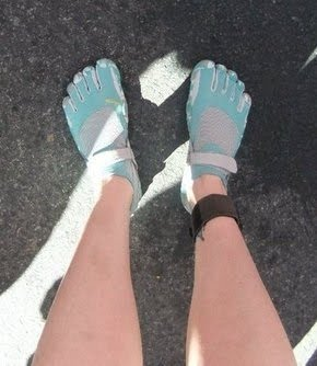 My running feet