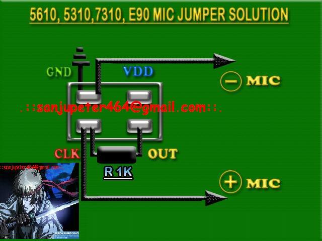 Nokia 5310XM, 5130c, 5220, 7210c Mic Jumper