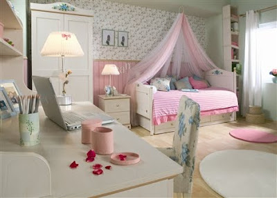 girl+bedroom+1 Cool Tips Pink Girls Bedroomsawesome Residence Design