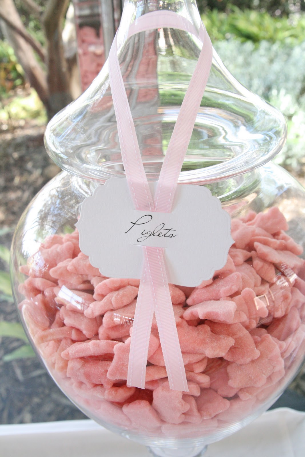 A Pink and White Wedding Candy Table | Sweet Style