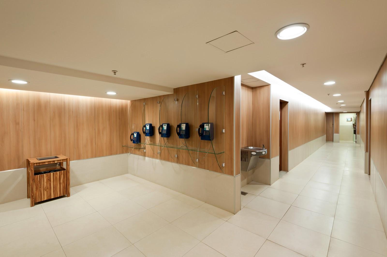Arquiteto Daltônico: Novos banheiros do Taguatinga Shopping #714720 1600 1065