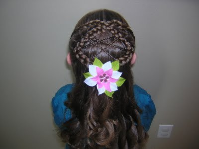 braided hairstyles for little girls. Princess Hairstyles
