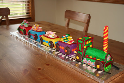 Coolest Thomas Train Birthday Cake