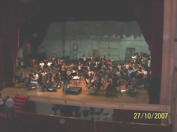Ensayo en el teatro