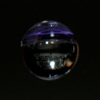 The Manhattan skyline in a drop of water