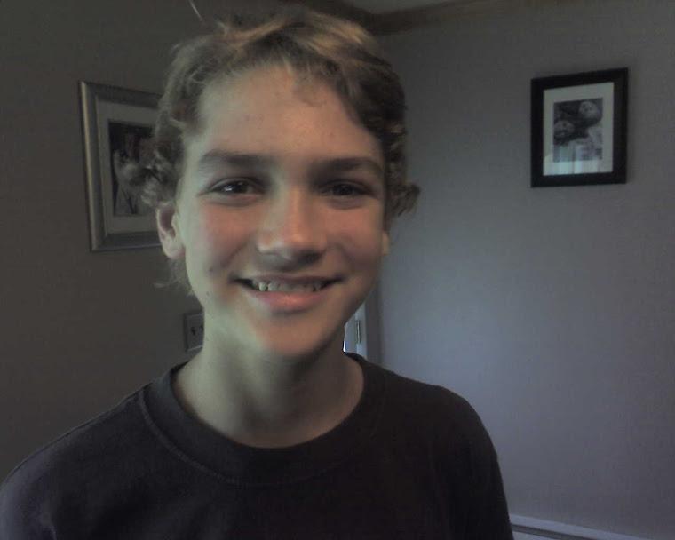 Eric Gets a Haircut!!!