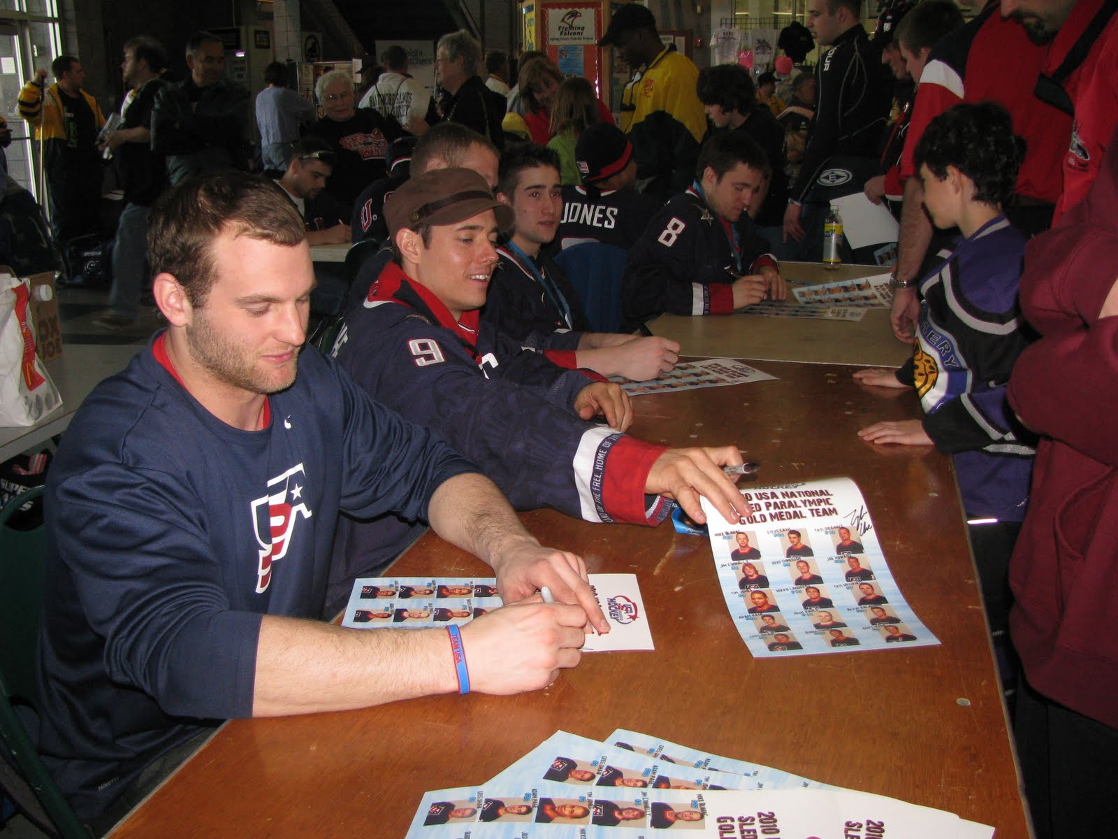 Usa hockey disabled festival meet and greet with sled hockey world captain andy yohe m4hsunfo