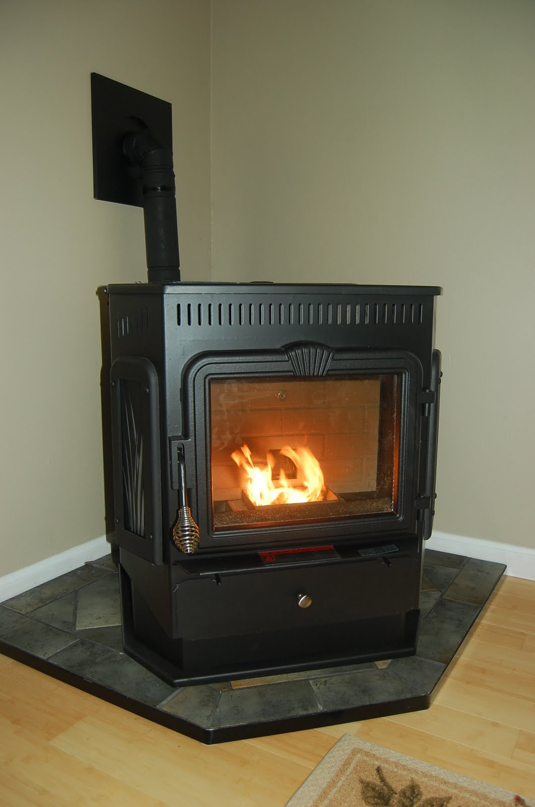 mobile home wood stove chimney with Pellet Stove Install on 50015916 further 10 Fireplaces For Any Style Which One Is Yours as well Gas Stoves further 3583374 besides How To Choose Lighting For Your Colonial Style Kitchen.