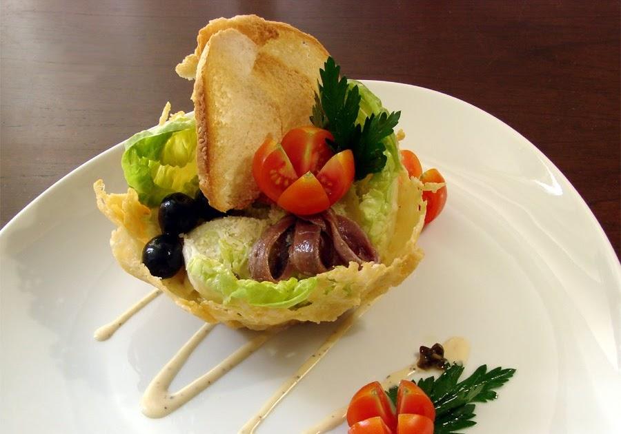 Labgourmet ensalada c sar estilo sk for Decoracion de ensaladas